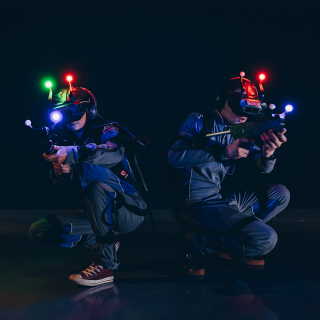 Virtual Laser game